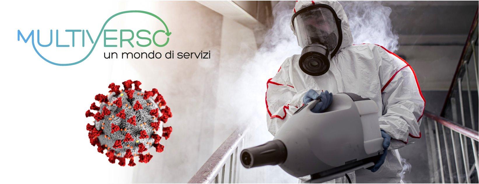 Sanificazione Disinfezione Ambienti Covid-19 a Rimini   UNSIC e MULTIVERSO: Sanificazione Ambienti, Disinfezione Completa, Trattamento Ozono, Nessun Effetto Residuale